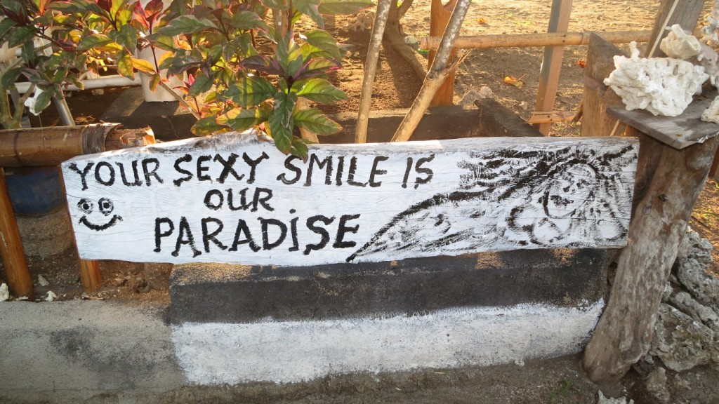 Your sexy smile is our paradise.