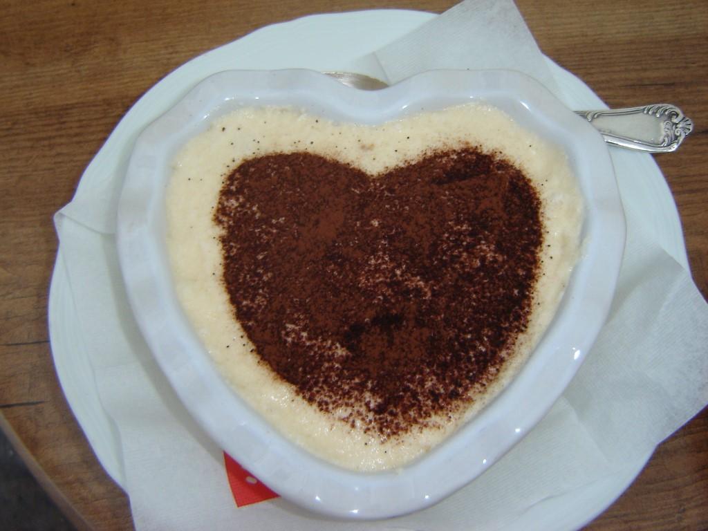 Tiramisu, with love from Verona, Italy