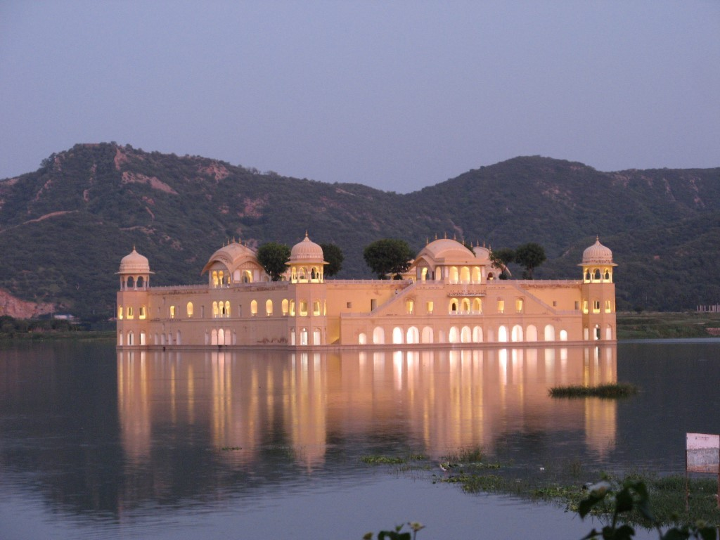Jal Mahal reflection